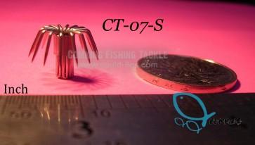 CT-07-S Stainless Steel Squid Hooks