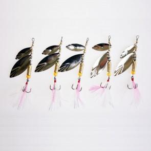 5pcs Lot Spinnerbaits Trolling Spinner Bait Baits Bass Fishing Lures[10g]
