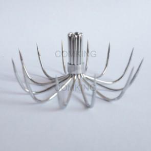 50X 12Points 41mm Spider Hooks