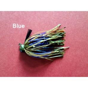 Rubber Jigs 1/4 oz VMC HOOK-Blue